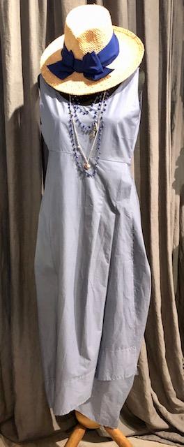 Midi- Dress aus Baumwolle