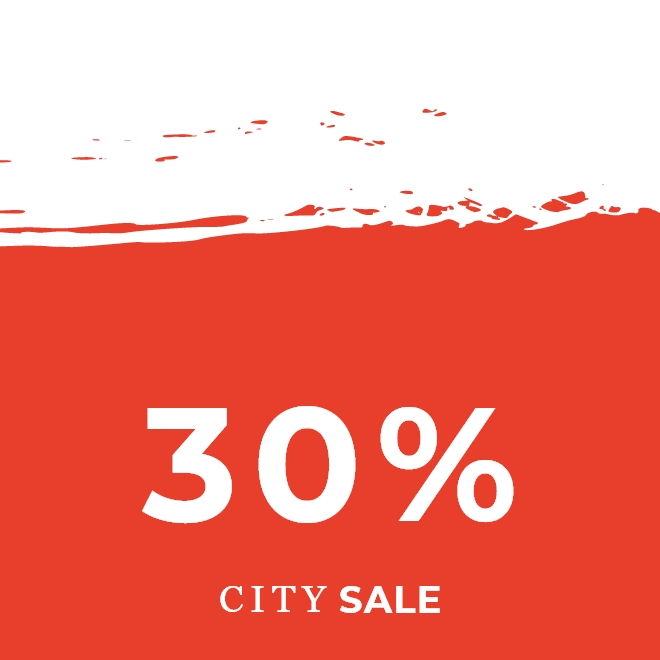 City Sale -30%